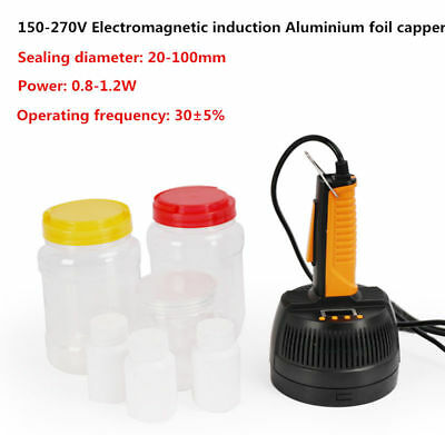 220V Electromagnetic Induction Aluminium Foil Capper Bottle Cap Sealing Machine