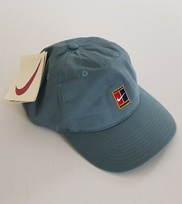 0dcac491 Nike Hat Supreme Court 90s Vintage Adjustable Tennis Challenge Sports  Agassi Cap