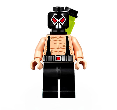 Lego DC Comics Super Heroes Bane Minifigure NEW!!!