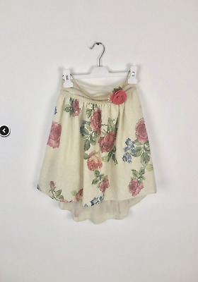 10y Jeycat designer girls gold top and rose skirt outfit