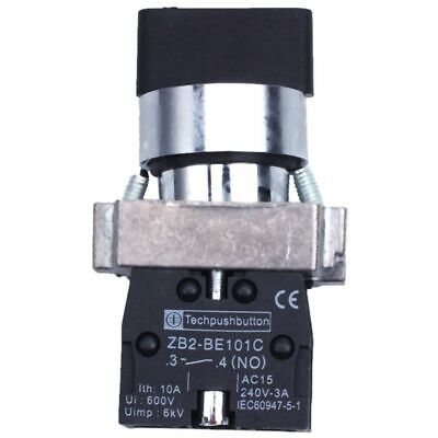 2 Pcs 2NO DPST 3 Positions Maintained Rotary Selector Switch 600V 10A U8X7