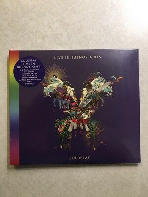 "COLDPLAY ""Live In Buenos Aires"" 2-CD Set (New 2018 Release)(Mint)"