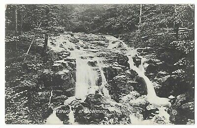 Vintage Postcard, 1910 WATERFALL AT TOBERMORY.   602