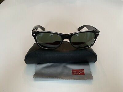 65d34ed0c3b84 RAY-BAN NEW WAYFARER Classic Sunglasses RB2132 902 58 52-18 Green ...