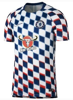 86c3c363a7 MENS NIKE DRI Fit Chelsea Squad Soccer Shirt Jersey Small $60 NWT ...