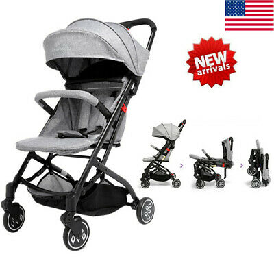 Foldable Stroller Baby Carriage Kids Travel Jogger Collapsible Infant Pushchair