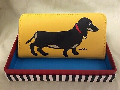 Beautiful Marc Tetro Dachshund Wallet- AIDS DRSF Rescue Suli