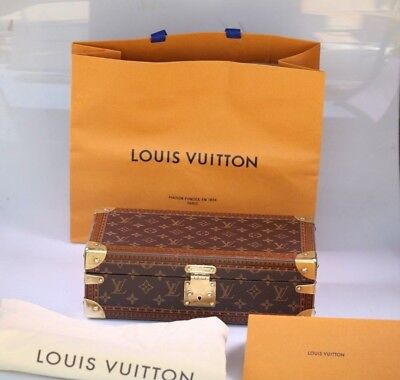 66bf8cdf77 AUTHENTIC LOUIS VUITTON Coffret 8 Montres Watch Case M47641