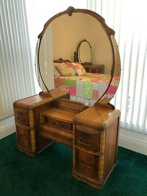 3 Piece Art Deco 1930's Bedroom Set
