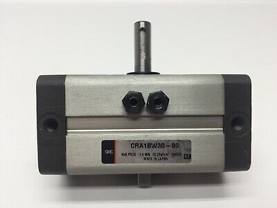 SMC CRA1BW30-90 Rotary Actuator 90 degree Rack and Pinion Double Shaft
