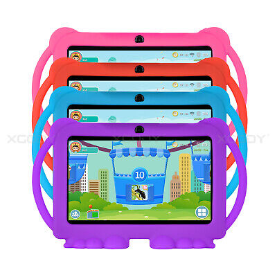 """XGODY Android 8.1 7"""" Inch Tablet PC Bundle Case Quad-core 16GB WIFI IPS for Kids"""