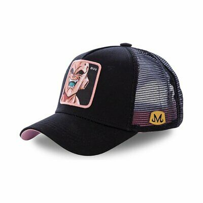 Gorra Collabs Dragon Ball Z Buu Trucker Negro Hombre