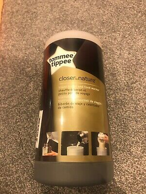 Tommee Tippee Closer To Nature Travel Food And Bottle Warmer Bnib