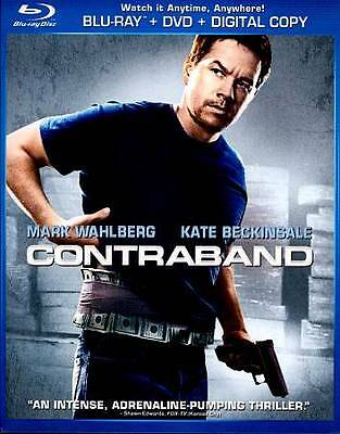 Contraband (Blu-ray Disc and Art Only) Mark Wahlberg, Giovanni Ribisi