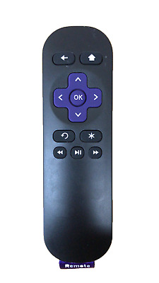 2 Pieces New Roku Replaced IR Remote ROKU7 for Roku 1/2/3/4 LT HD XD XS player