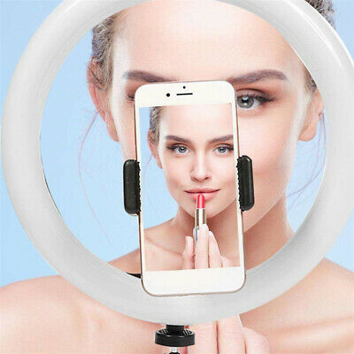 Dimmable LED Ring Light Photography Selfie Light For Photo Phone Camera Makeup