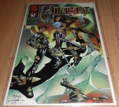 Witchblade Wizard 500 (1998) #500 Signed Variant...Published Dec 1998 by Top Cow
