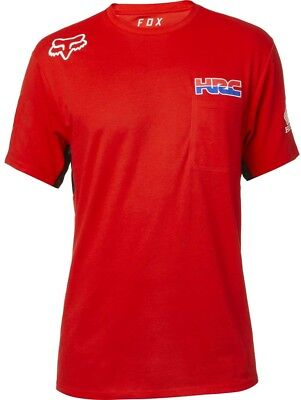 Maglia Fox Hrc Ss Airline Tee Red Tg L