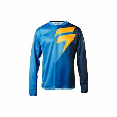 Maglia Moto Cross Shift 2018 Whit3 Tarmac BLUE TG M