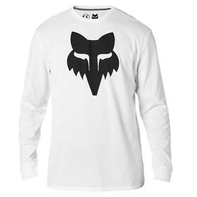 Maglia FOX X SEE SEE LONG SLEEVE AIRLINE TEE WHITE TG L