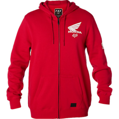Felpa Honda Fox Fleece Rossa Tg M