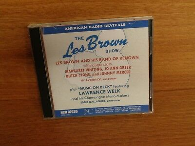 Les Brown And His Band Of Renown : The Les Brown Show : Cd : Ncd 07030