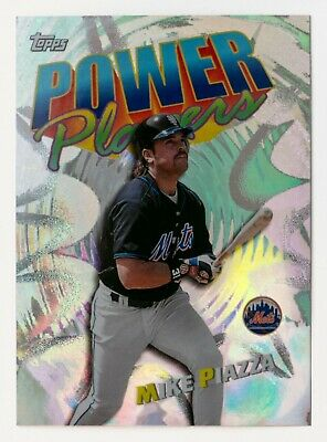 Mike Piazza #P14 (1999 Topps) Power Player Insert Card, New York Mets, HOF