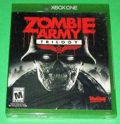 Zombie Army Trilogy Xbox One *New! *Sealed! *Free Shipping!
