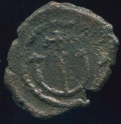 AUTHENTIC BYZANTINE EMPIRE  Æ Coin 1.53 gr / 17.09 mm BYZ1074.5