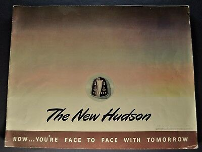 1948 Hudson Large Prestige Catalog Brochure Commodore Super Nice Original 48