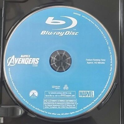 THE AVENGERS (Blu-ray, 2018) / BLU-RAY DISC ONLY!  FROM 4K EDT / LIKE NEW