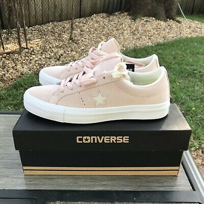2e8dcc2fdba1df CONVERSE ONE STAR PRO OX DUSK PINK Suede Skate Mens Sz 7 Womens Sz 9 Shoes