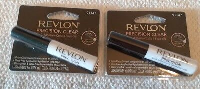df3fcc14c38 2 Pack Revlon Lash Glue Lash Adhesive, Precision Clear New in Package. Free  Ship