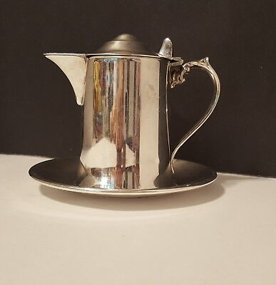 Vintage Silver plate Wallace M616 Creamer or Syrup or Sauce Pitcher