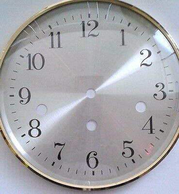 Hermle- Mantel  clock dial -Bezel combination 180 mm for 1050 movement