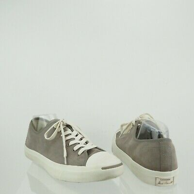 b15cd6f172a2 Unisex Converse Jack Purcell Low Top Gray Sneakers Women s 12.5 Men s 11 M