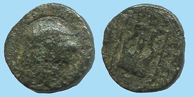 APOLLO KITHARA MUSIC Authentic Ancient GREEK Coin 1,8g/13mm @AG158.12US