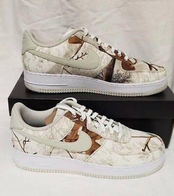 82ec5e3d534c9 2019 NIKE AIR Force 1 '07 LV8 3 Realtree White Camo AF1 Low Size 15 ...