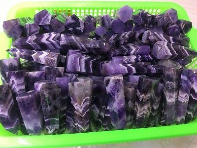 1kg Natural Dream Amethyst WAND POINT Polished QUARTZ CRYSTAL Collection