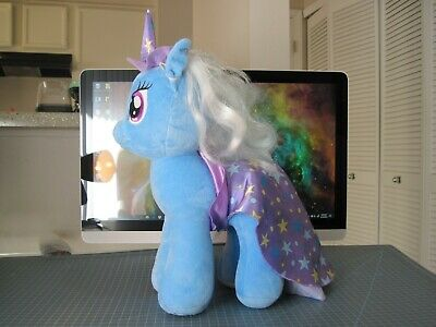 My Little Pony Build A Bear BAB Trixie With Hat And Cape