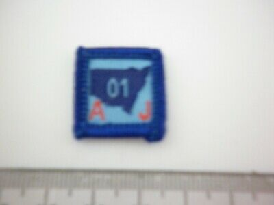 Western Australian AJ01 Jamboree Contingent  issued LIMITED Edition scout Badge
