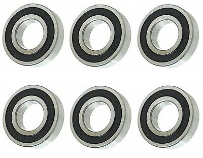 2 BALL BEARINGS Fits Spindle Shaft ID: 5/8