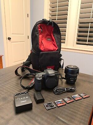 Canon EOS 7D Digital SLR - Black (Kit w/ EF-S IS 17-85mm Lens) w Free Fastpack!