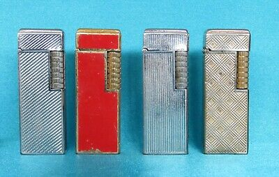 Four Collectable Vintage Classic 1970's Butane Lighters