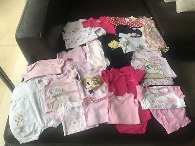 Baby Girl Clothes Bulk Lot Size 000 (0-3 Months)