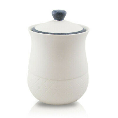 Royal Ceramic Cremation Urn for Ashes - Large  White