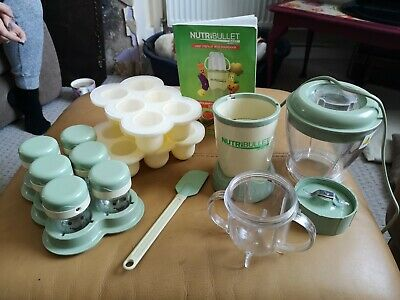 Nutribullet Baby Food Processor With Accessories