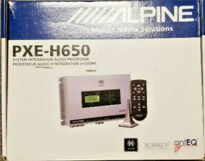 ALPINE PXE-H650 DSP Imprint Sound Digital Signal Processor Equalizer LZK EQ