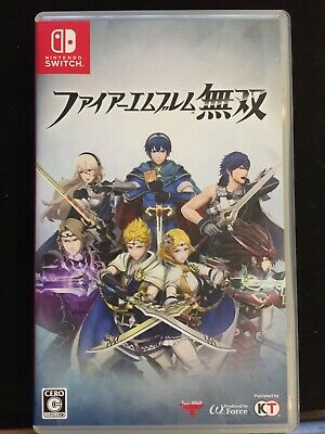 Fire Emblem Warriors JAP Version Nintendo Switch