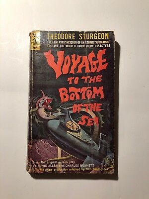 Voyage to the Bottom of the Sea, Theodore Sturgeon. 1961 Pyramid first print SF.